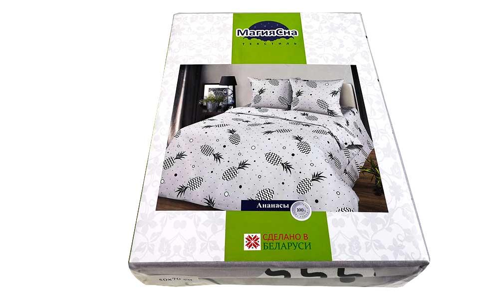 Комплект постельного белья – Ананасы