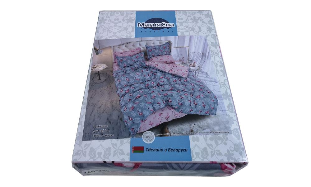 Комплект постельного белья – Фламинго